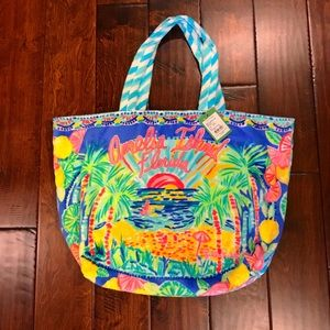 NWT 🌴🐳Lilly Pulitzer Destination Beach Tote🌴🐳